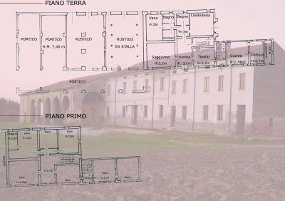 planimetria Rustico / Casale Vendita Viadana