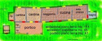 planimetria Rustico / Casale Vendita Villaga