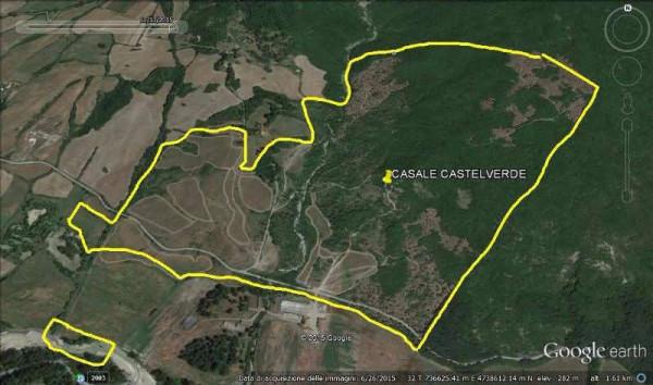 foto fotogrammetria Terreno agricolo in Vendita a Acquapendente