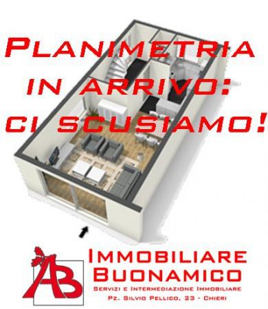 foto plan Villa via Valentino, Buttigliera d'Asti