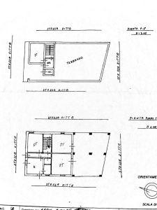 planimetria Villa Vendita Adrano