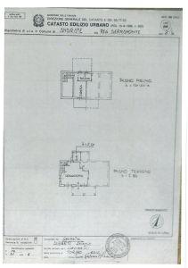 planimetria Villa Vendita Andrate