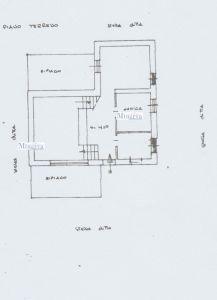 planimetria Villa Vendita Anzio