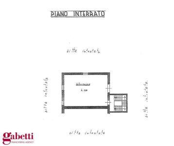 planimetria Villa Vendita Baldissero d'Alba
