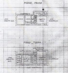 planimetria Villa Vendita Barolo