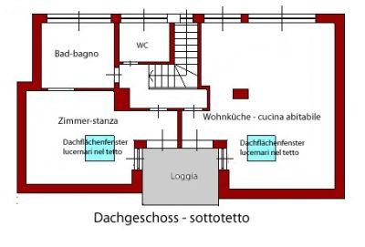 planimetria Villa Vendita Bolzano