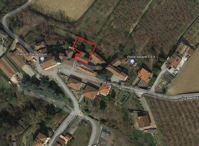 planimetria Villa Vendita Bosia