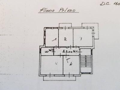 planimetria Villa Vendita Bra