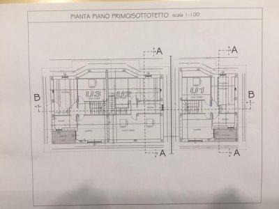 planimetria Villa Vendita Bruino