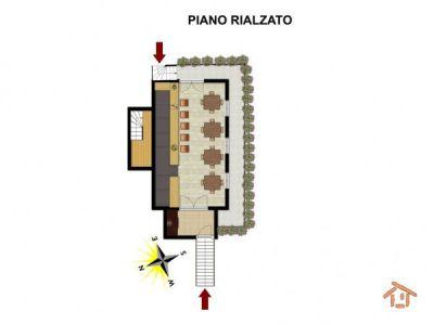 planimetria Villa Vendita Brusson