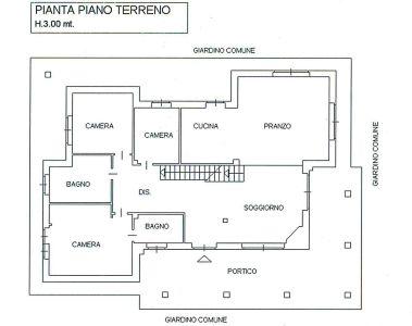 planimetria Villa Vendita Buttigliera Alta
