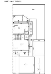 planimetria Villa Vendita Campi Bisenzio