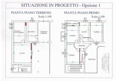 planimetria Villa Vendita Candiolo