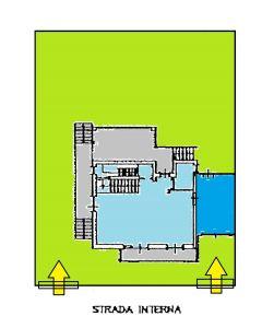 planimetria Villa Vendita Capua