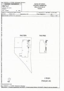 planimetria Villa Vendita Castiglione Messer Raimondo