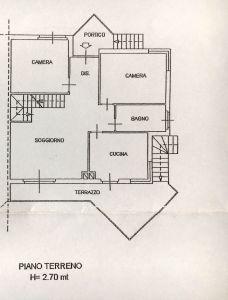 planimetria Villa Vendita Castiglione Torinese