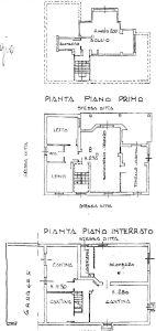 planimetria Villa Vendita Cervasca