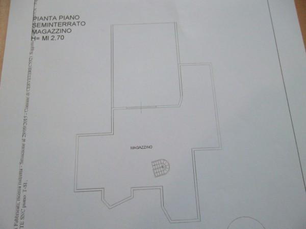 foto PIANO SEMINTERRATO Villa via delle Grotte, Cerveteri