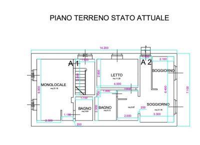 planimetria Villa Vendita Cesana Torinese
