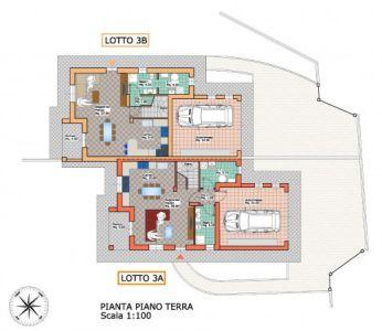 planimetria Villa Vendita Colleretto Giacosa