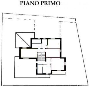planimetria Villa Vendita Controguerra