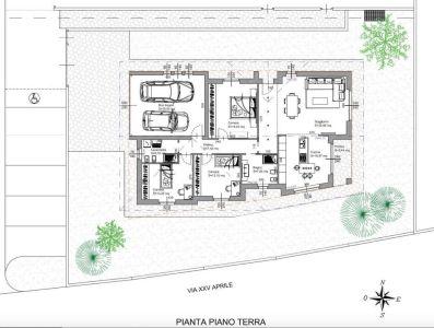 planimetria Villa Vendita Filago