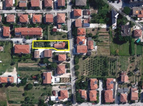 foto Vista satellitare Villa via Borroni, 18, Foligno