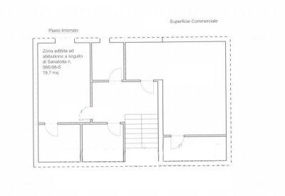 planimetria Villa Vendita Formello