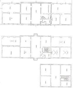 planimetria Villa Vendita Fratta Polesine