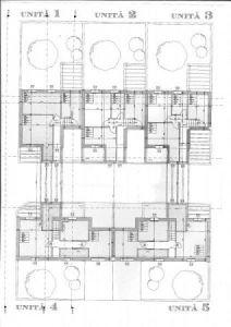 planimetria Villa Vendita Galliate