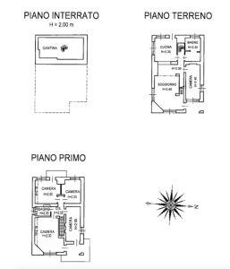 planimetria Villa Vendita Gressoney-Saint-Jean