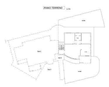 planimetria Villa Vendita Guarene