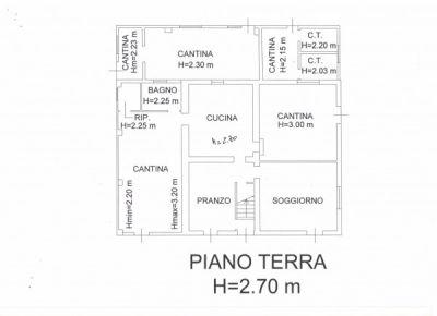 foto piano terra Villa via Balignano 700, Longiano