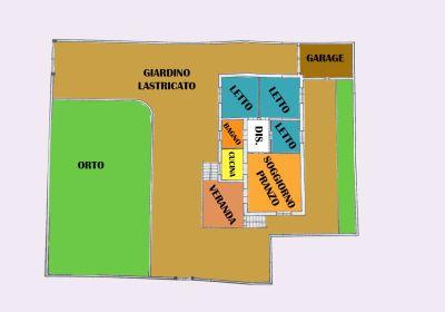 planimetria Villa Vendita Manduria
