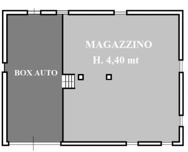 planimetria Villa Vendita Manta