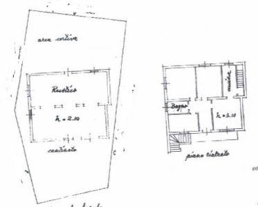 planimetria Villa Vendita Marmirolo