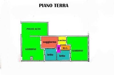 planimetria Villa Vendita Maruggio