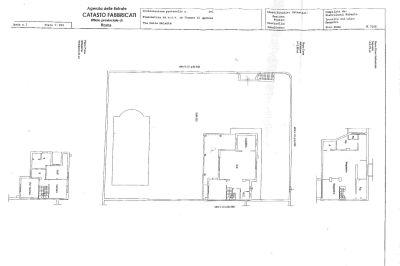 planimetria Villa Vendita Mentana
