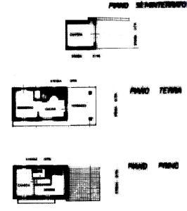 planimetria Villa Vendita Monforte d'Alba