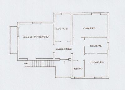 planimetria Villa Vendita Nerola