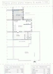 planimetria Villa Vendita Nettuno