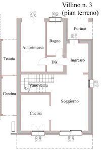 planimetria Villa Vendita Ozzano dell'Emilia