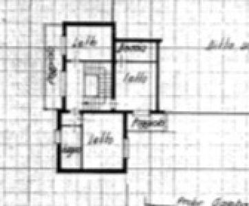 planimetria Villa Vendita Padova