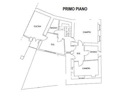 planimetria Villa Vendita Pecco