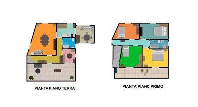 planimetria Villa Vendita Pietrabruna
