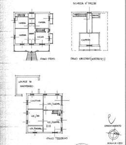 planimetria Villa Vendita Piozzo