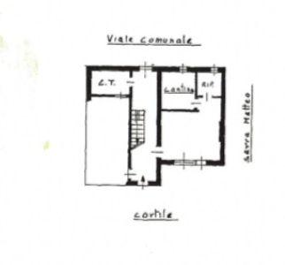 planimetria Villa Vendita Poirino