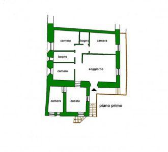 planimetria Villa Vendita Pragelato