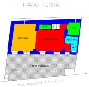 planimetria Villa Vendita Pralormo