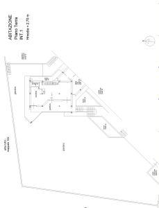 planimetria Villa Vendita Riano
